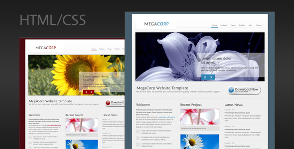 MegaCorp - Corporate Business HTML Template