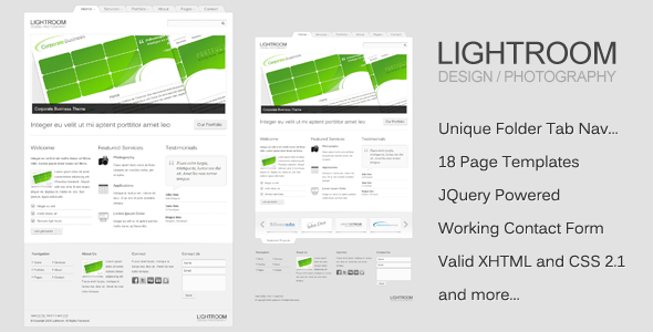 Lightroom Theme