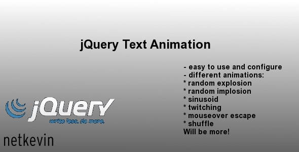 CodeCanyon jQuery Text Animation 233445