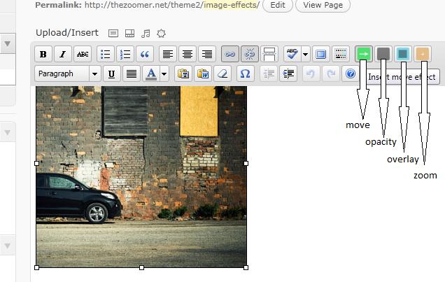 WordPress Image Effects Plugin