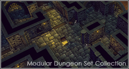 Modular Dungeon Set Collection