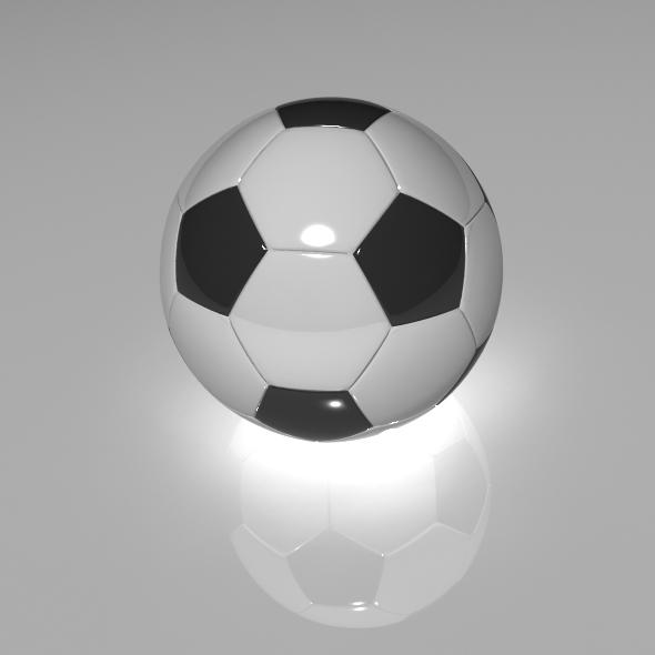 3DOcean Football 76830