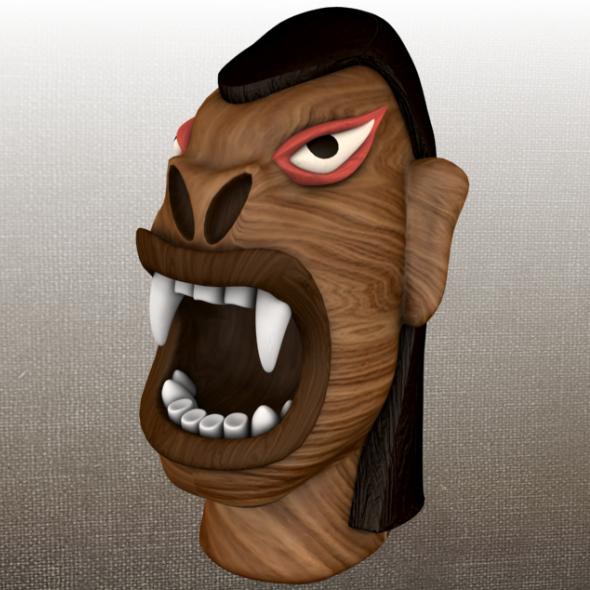 Carranca / frown - 3DOcean Item for Sale