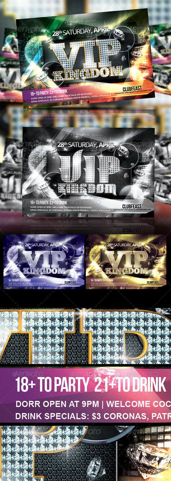 GraphicRiver VIP Kingdom Night Party 2009502