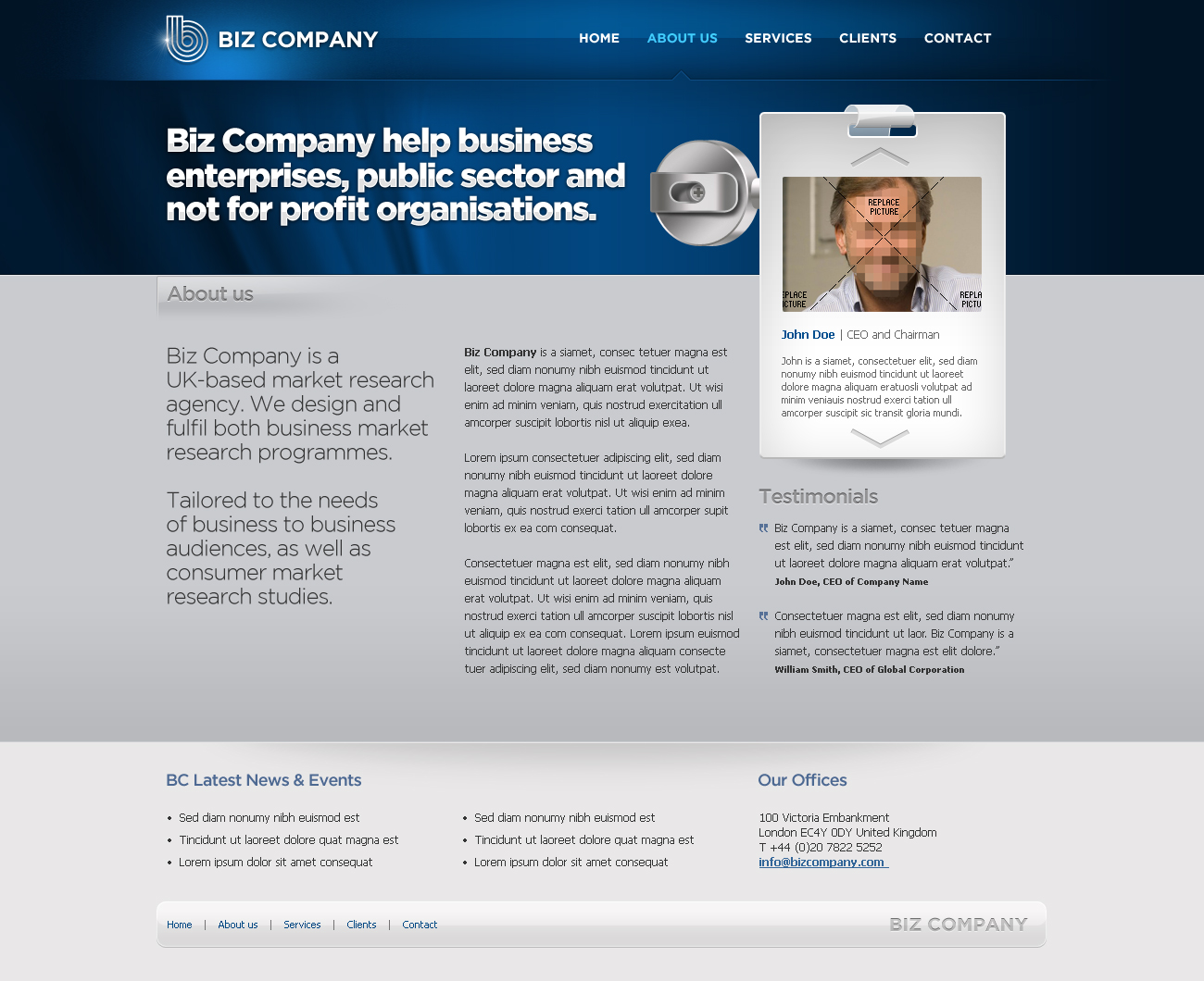Business Template #08