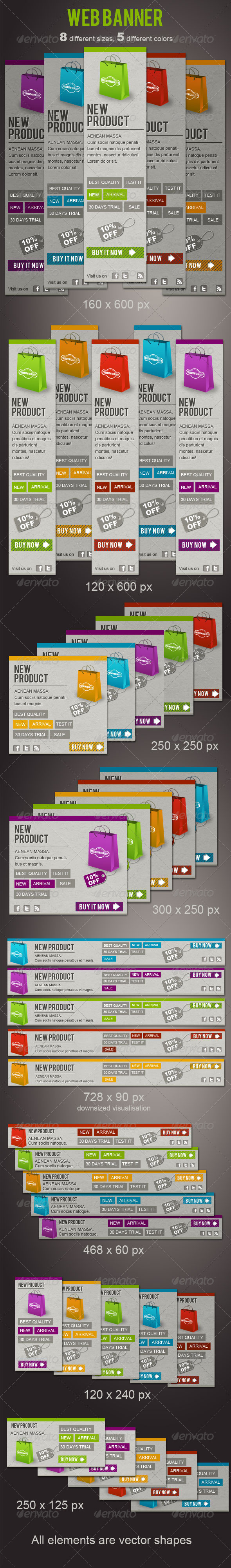 GraphicRiver Fresh Web Banners 2010487