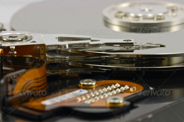 Hard disk drive Head - Stock Photo - Images