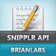 Snipplr APItizer - விற்பனை WorldWideScripts.net பொருள்