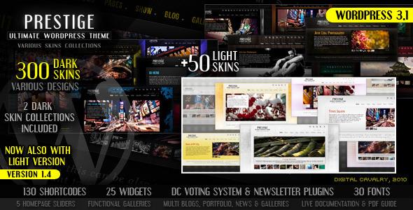 Prestige - Ultimate WordPress Theme - ThemeForest Item for Sale