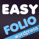 EASYFOLIO - ThemeForest Item for Sale