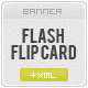 FLASH XML PERSPECTIVE FLIP CARD - ActiveDen Item for Sale