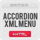 XML Accordion Banner Menu - ActiveDen Item for Sale