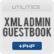 Flash xml Guestbook (Admin Panel) - ActiveDen Item for Sale