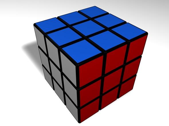 3DOcean Puzzle Cube 76883