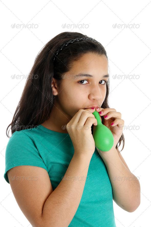 Teen Girl - Stock Photo - Images