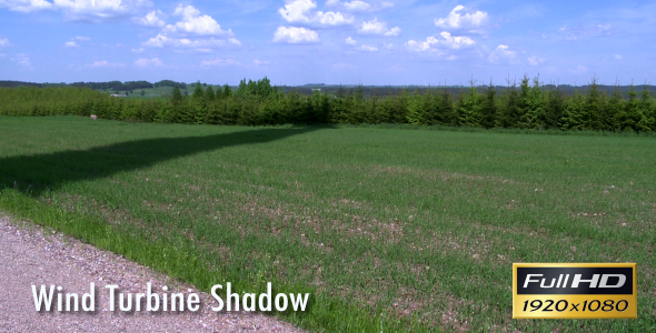Wind Turbine Shadow