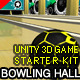 Bowling Hall Unity 3D Game Starter Kit - ActiveDen Item for Sale