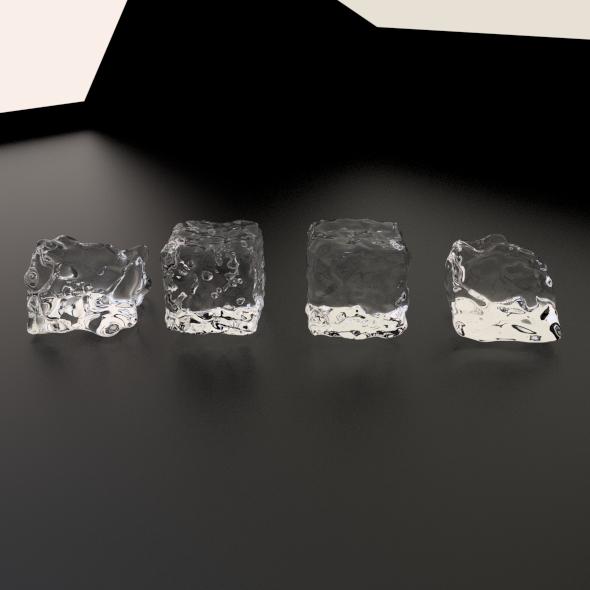 3DOcean Ice Cubes 1967519