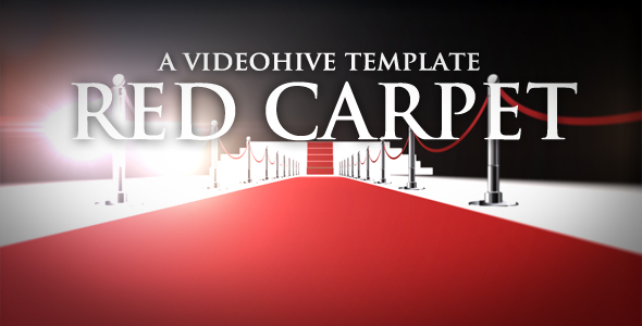 After Effects Project - VideoHive Red Carpet 233266