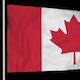 Canada flag seamless loop - VideoHive Item for Sale