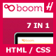 Boom - Professional HTML Theme - ThemeForest Item for Sale