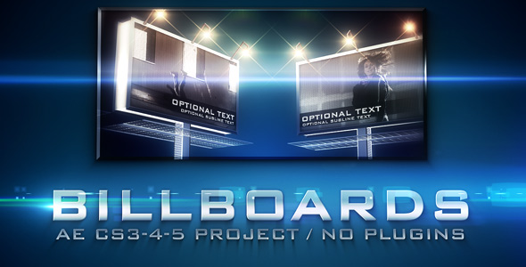After Effects Project - VideoHive Billboards 234174
