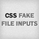 CSS Fake File Inputs - CodeCanyon Item for Sale