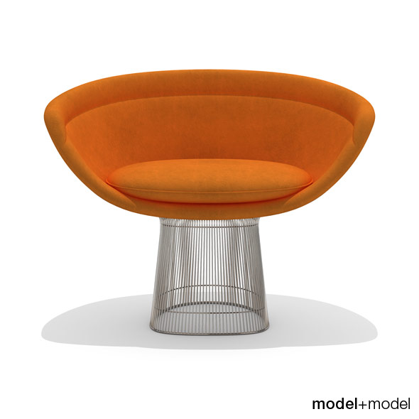 3DOcean Knoll Platner lounge chair 234276