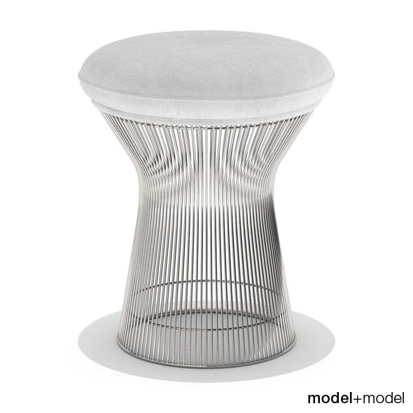 3DOcean Knoll Platner stool 234278