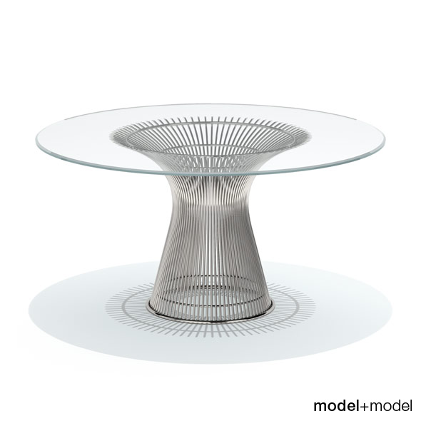 3DOcean Knoll Platner dining table 234280