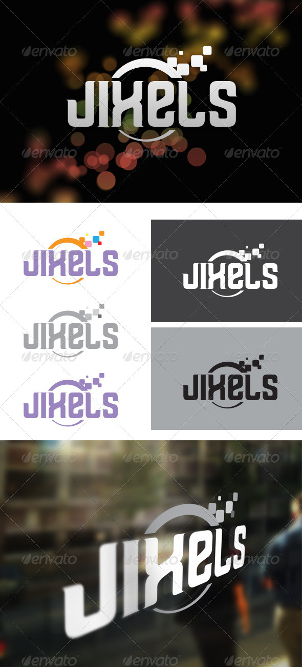Jixels Digital Agency - Symbols Logo Templates