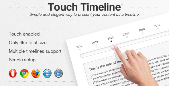 CodeCanyon Touch Timeline 1927104