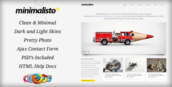 ThemeForest Minimalisto Html Template 234614