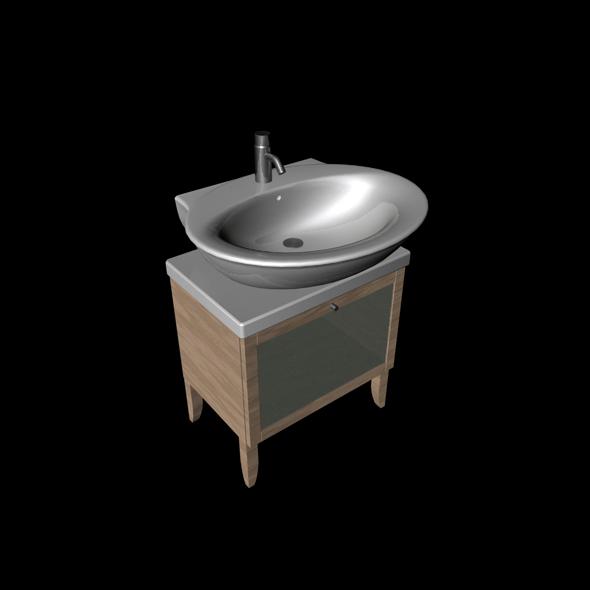 3DOcean Wash Basin 77094