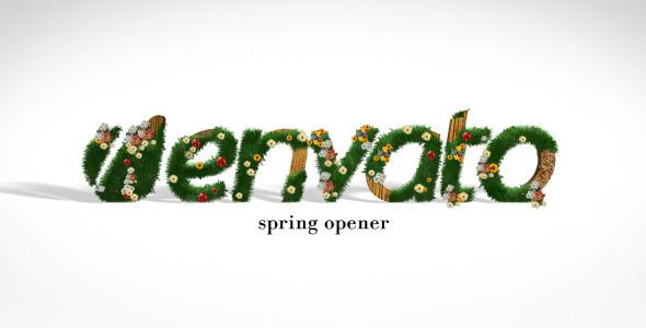 VideoHive Spring Logo Reveal 2018811