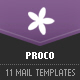 PROCO - 11 E-mail Templates - ThemeForest Item for Sale