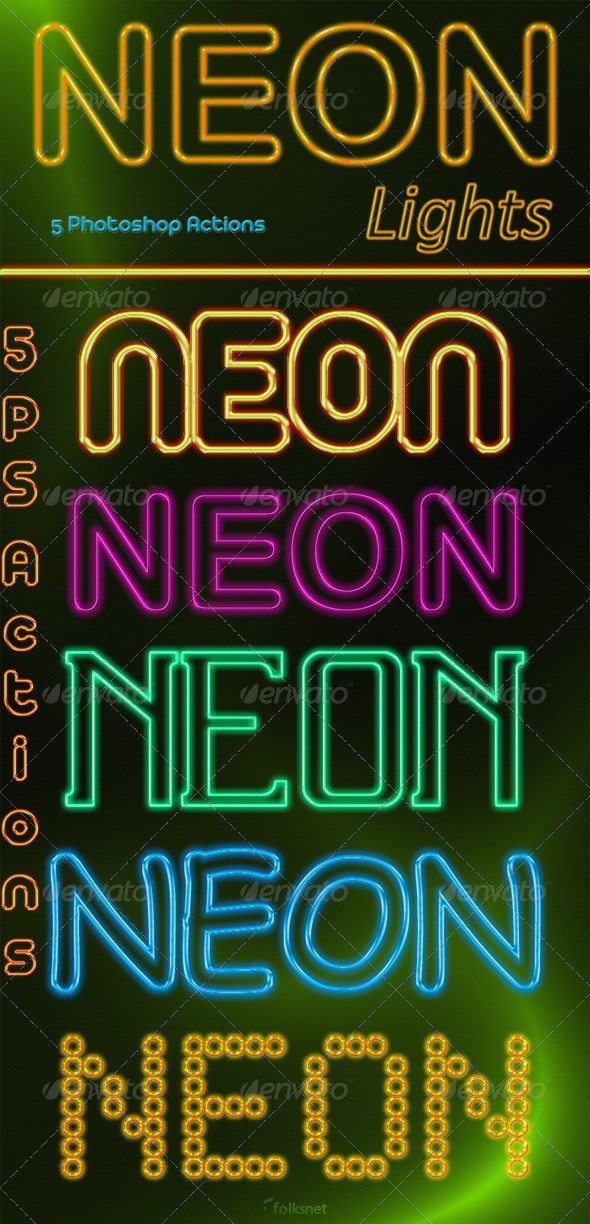 GraphicRiver NEON Lights 127771