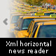AS3 Xml Horizontal News Reader - ActiveDen Item for Sale