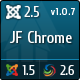 JF Chrome - JomSocial Ready Joomla Template - ThemeForest Item for Sale