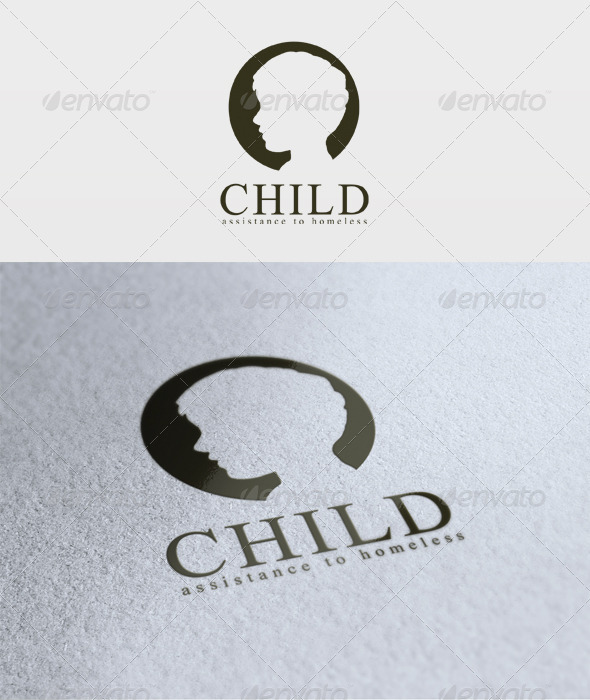 Graphic River Child Logo Logo Templates -  Humans 2021581
