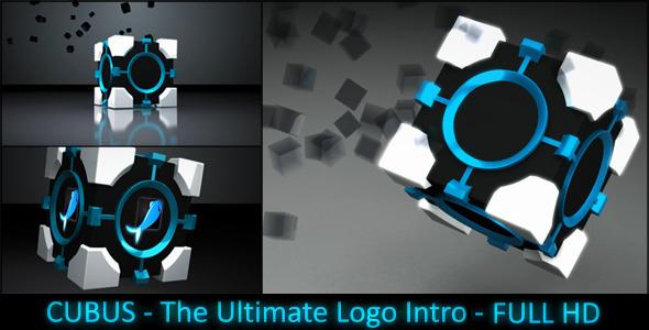 VideoHive CUBUS Hi-Tech Logo Intro 2021630
