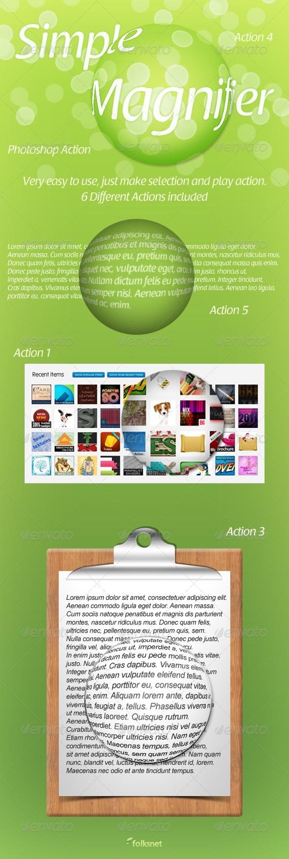 GraphicRiver Simple Magnifier 147329