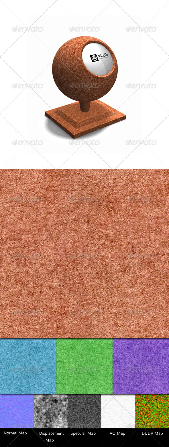 Carpet Textures Pack - 3DOcean Item for Sale
