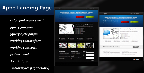 Appe Landing Page