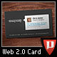 Web 2.0 Style Business Card - GraphicRiver Item for Sale