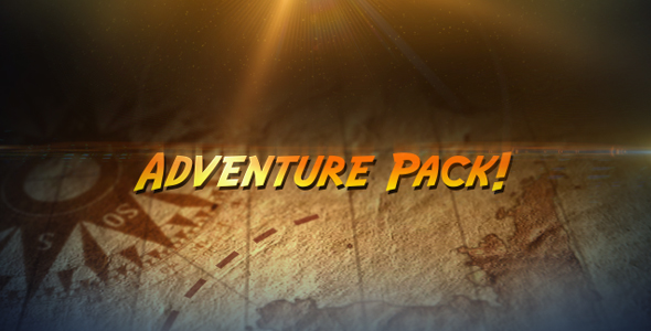 [VideoHive 235329] Adventure Pack | After Effects Project