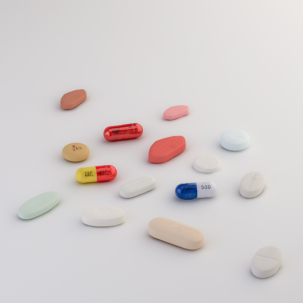 Pills Collection A-B