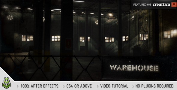 After Effects Project - VideoHive Warehouse 1945483