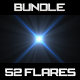 52 HD Optical/Lens Flares - Mega Bundle - GraphicRiver Item for Sale
