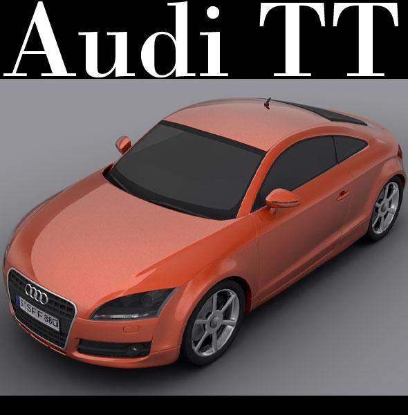 3DOcean Audi TT 235550